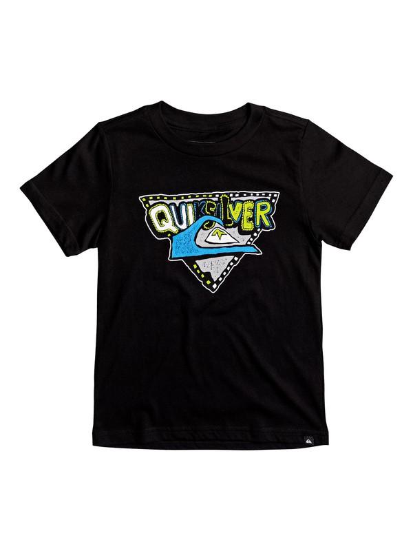 0 Boy's 2-7 Super Tee Black AQKZT03251 Quiksilver