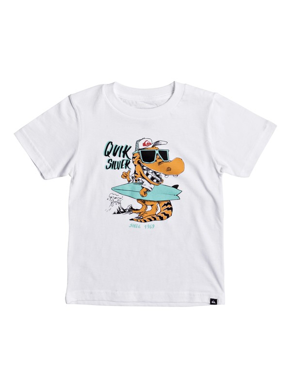 0 Boy's 2-7 From Old Times Tee  AQKZT03278 Quiksilver