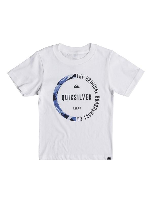 0 Boys 2 - 7 Revenge Tee White AQKZT03300 Quiksilver