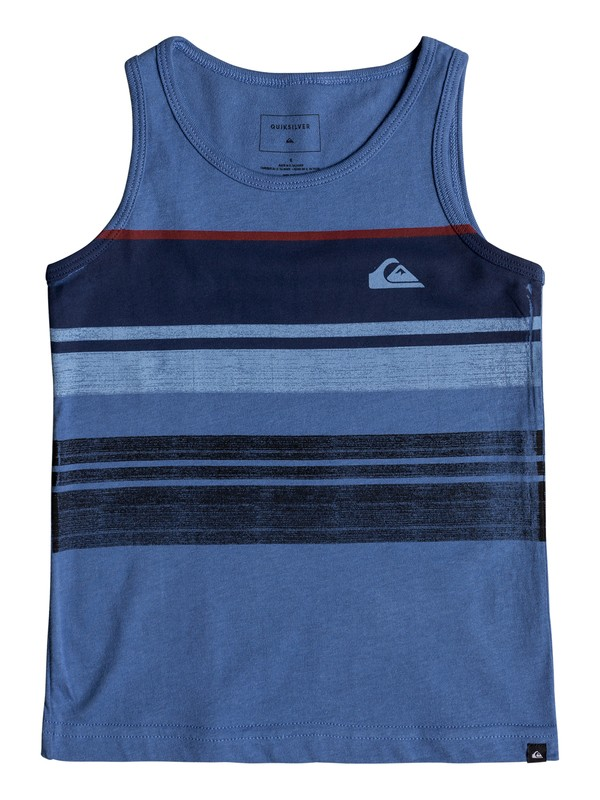 0 Boys 2 - 7 Swell Vision Tank  AQKZT03308 Quiksilver