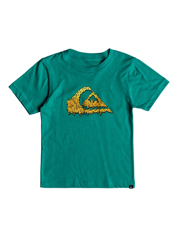 0 Boys 2-7 Gloss Varnish - T-Shirt  AQKZT03326 Quiksilver