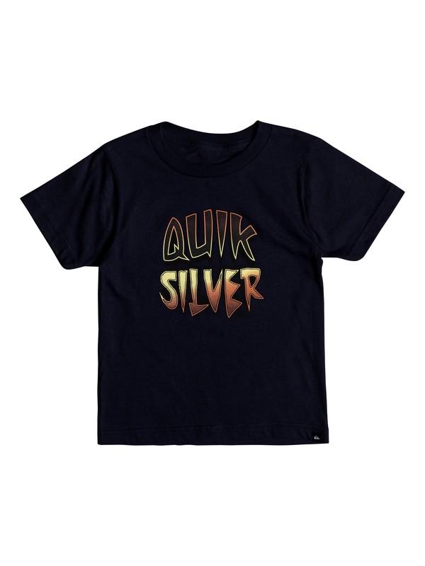 0 Boy's 2-7 Capt Cavern Tee Blue AQKZT03327 Quiksilver