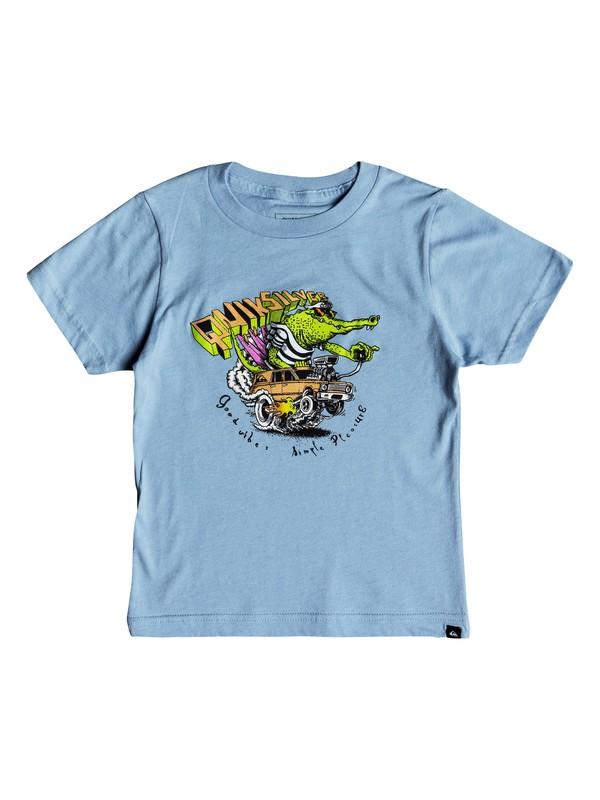 0 Boys 2-7 Crocodile Farwest Camiseta Azul AQKZT03330 Quiksilver