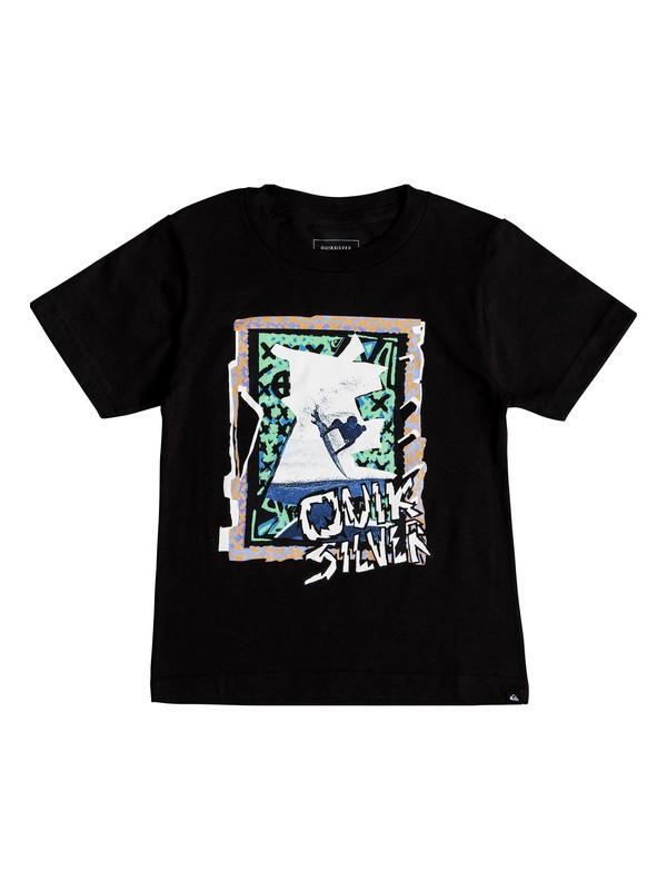 0 Boys 2-7 Magic Collage - T-Shirt Black AQKZT03332 Quiksilver