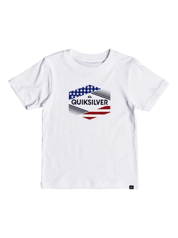 0 Boys 2-7 Stars & Stripes - T-Shirt  AQKZT03333 Quiksilver