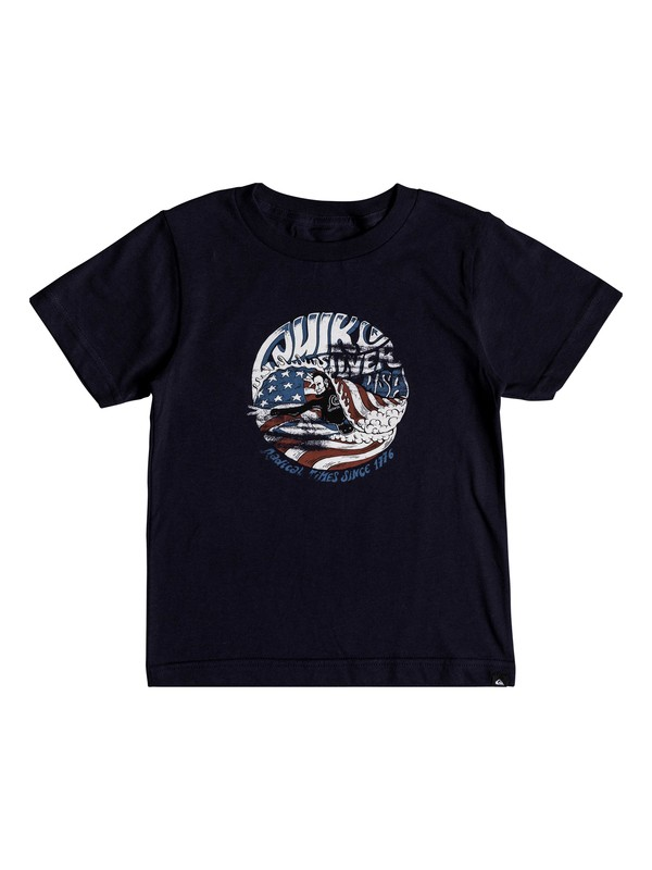 0 Boys 2-7 We Need You Camiseta Azul AQKZT03334 Quiksilver