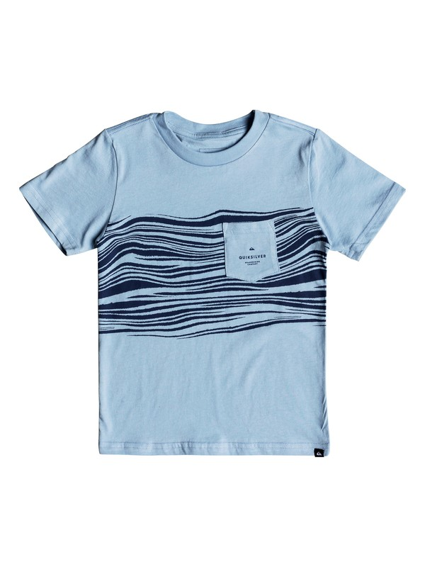 0 Boys 2-7 Zebra Zone Camiseta  AQKZT03355 Quiksilver
