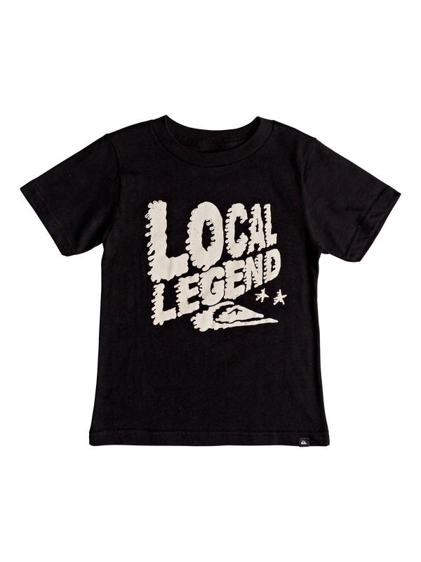 0 Niños 2-7 Camiseta Legend Negro AQKZT03357 Quiksilver