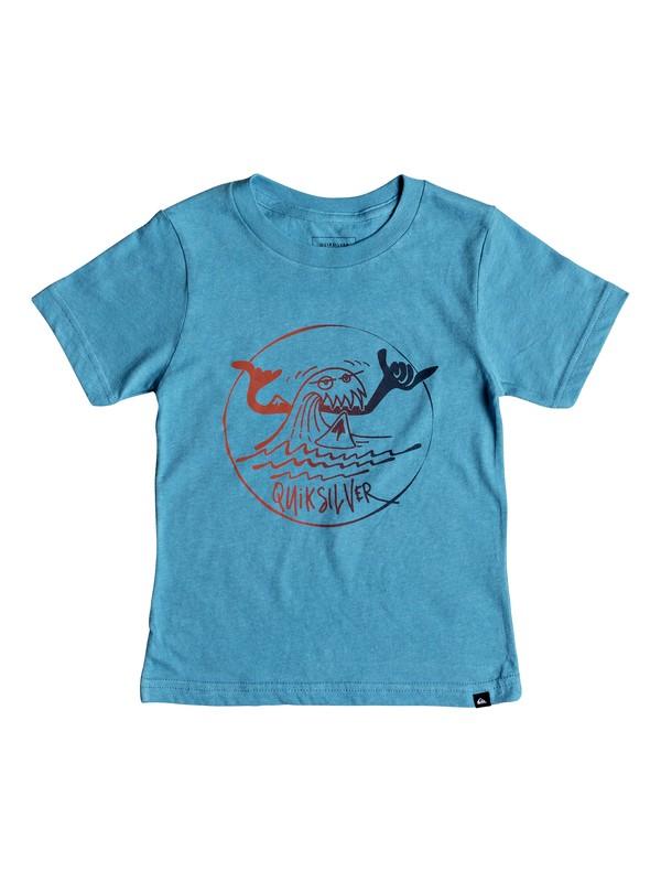 0 Boy's 2-7 Monster Shakka Tee Blue AQKZT03365 Quiksilver