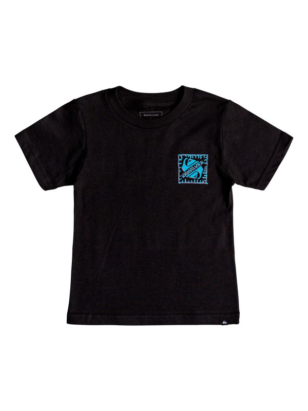 0 Boy's 2-7  Saved By The Swell Tee Black AQKZT03367 Quiksilver
