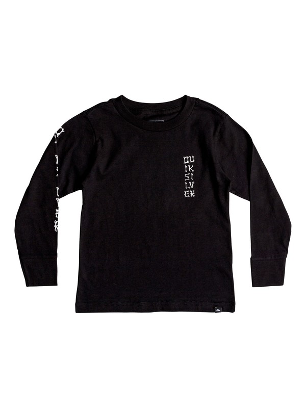 0 BONE PARTY LS KU1 Black AQKZT03368 Quiksilver