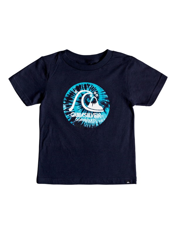 0 Boy's 2-7  Original Light Tee Blue AQKZT03382 Quiksilver