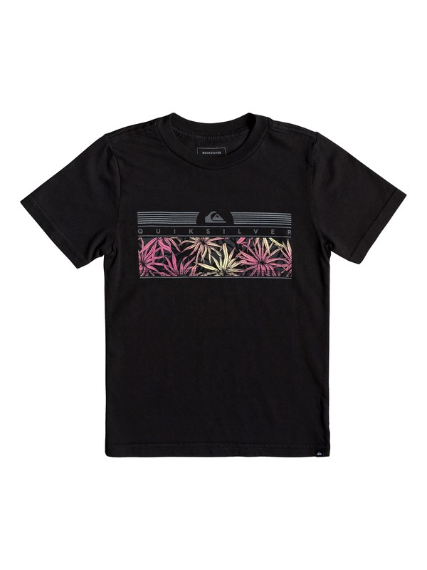 0 Boy's 2-7 The Jungle Tee Black AQKZT03428 Quiksilver