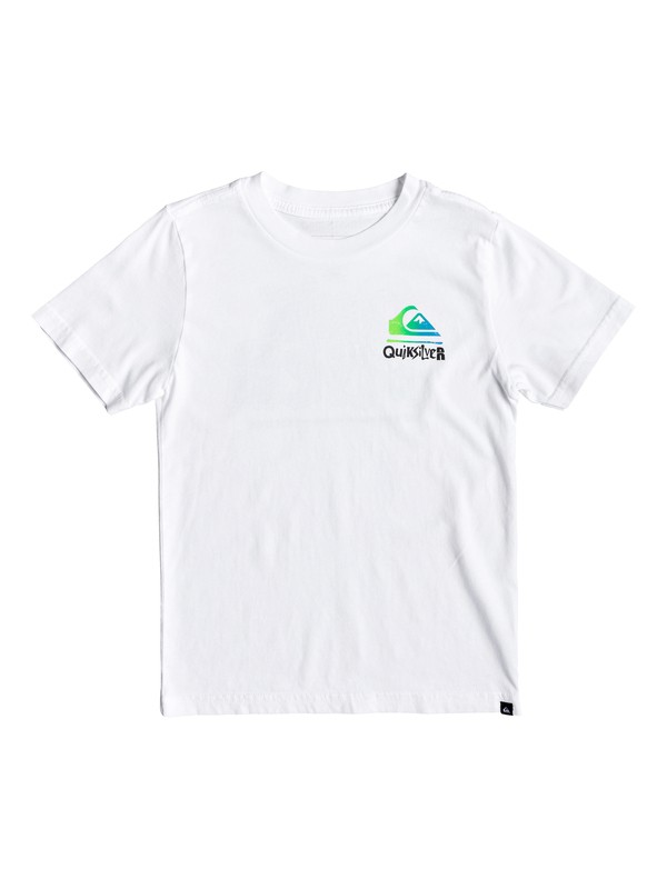 0 Boy's 2-7 Rebel Yell Tee White AQKZT03431 Quiksilver