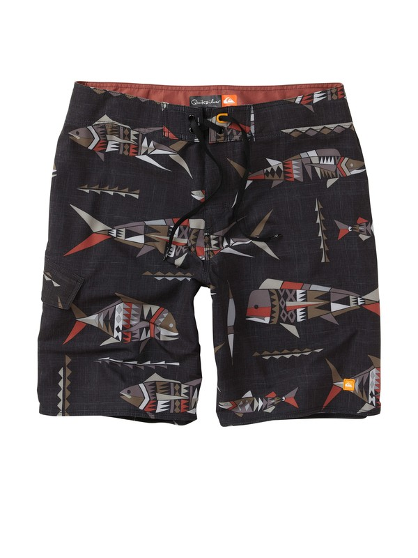 0 Men's Fish Tank Boardshorts  AQMBS00040 Quiksilver