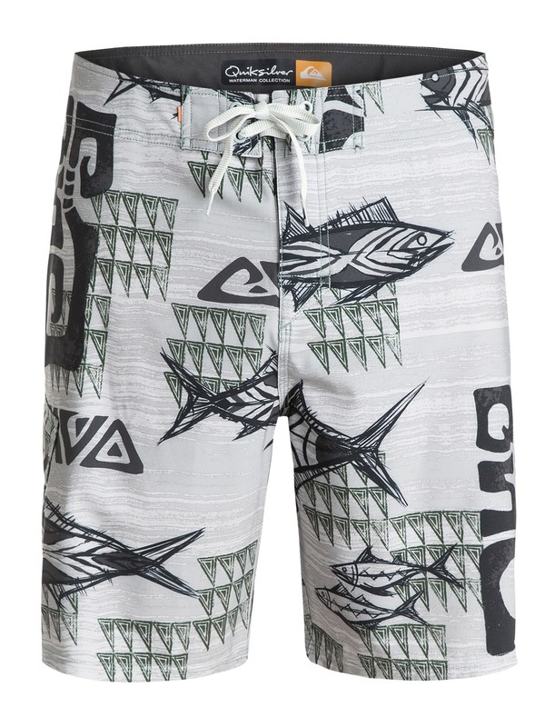 "0 Men's Downwind 19"" Boardshorts  AQMBS03036 Quiksilver"