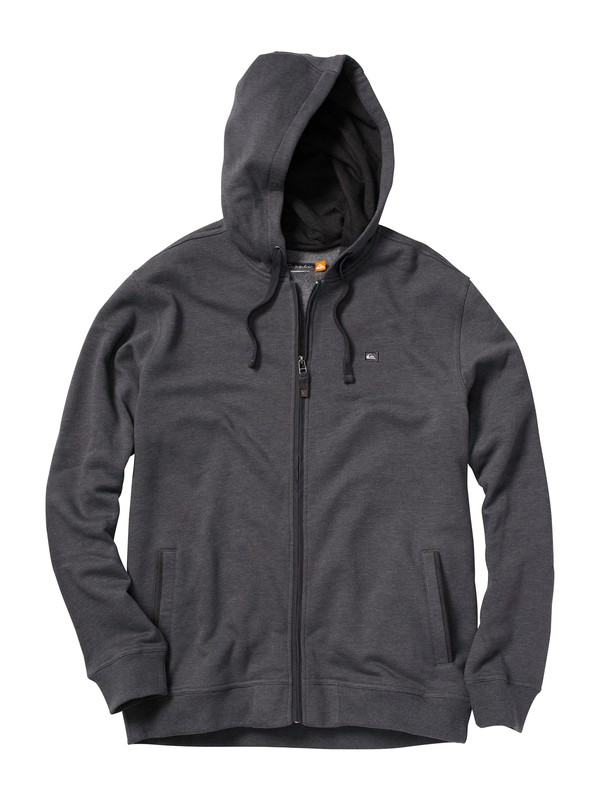 0 Men's Superbank Zip Hoodie  AQMFT00003 Quiksilver