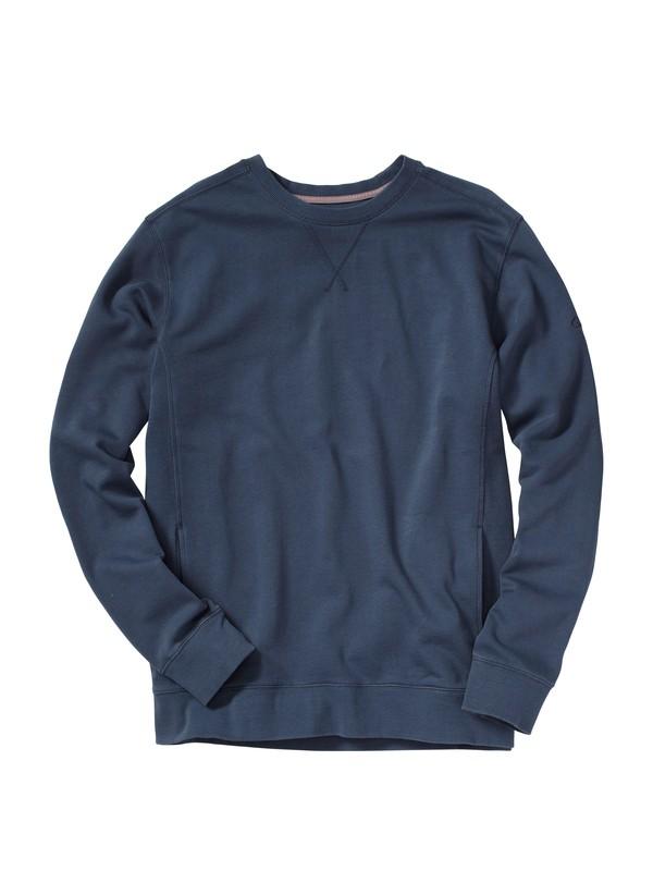 0 Men's Capsize Crew Pullover Sweatshirt  AQMFT00014 Quiksilver