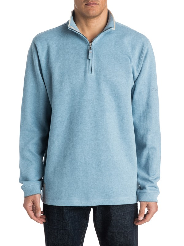 0 Point Sur 3 1/4 Zip Sweatshirt  AQMFT03015 Quiksilver