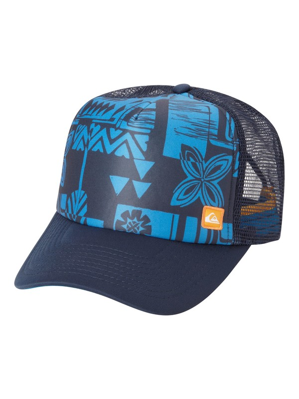 0 Men's Edgewater Trucker Hat  AQMHA03002 Quiksilver