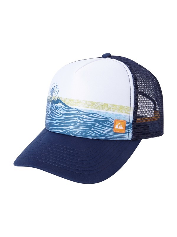 0 Men's Mondos Point Trucker Hat  AQMHA03011 Quiksilver