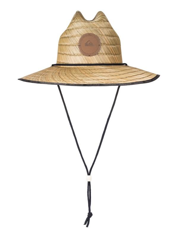 0 Waterman Dredge Straw Lifeguard Hat Amarillo AQMHA03057 Quiksilver