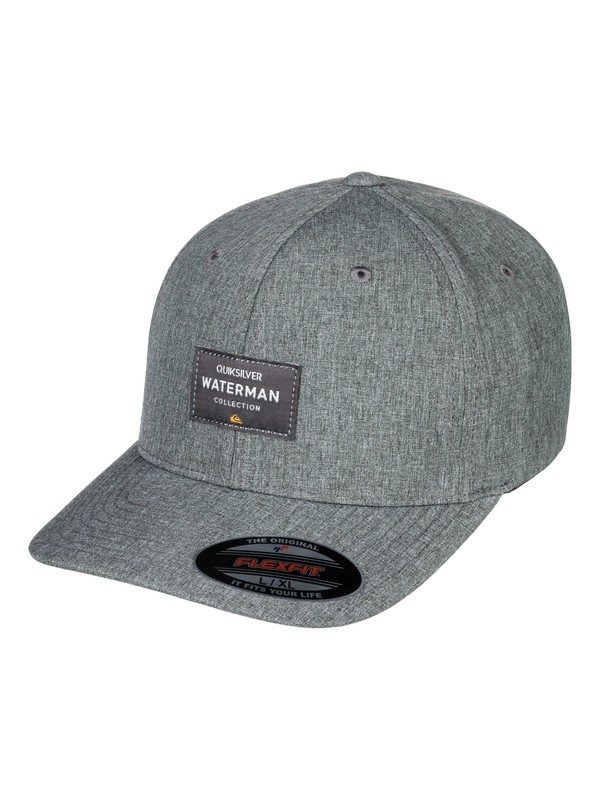 0 Waterman Sea Breezer - Flexfit Hat Black AQMHA03061 Quiksilver