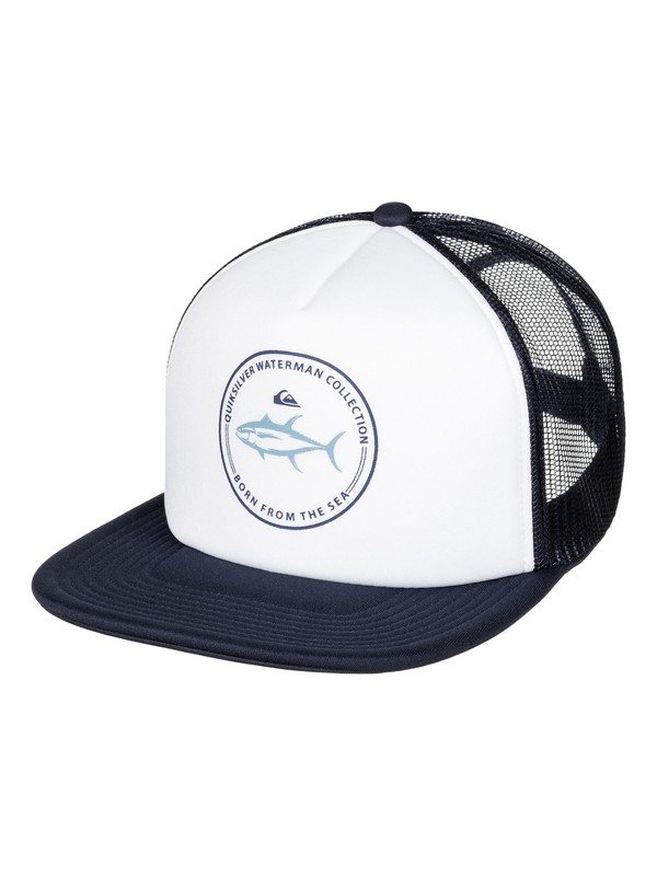 0 Waterman Abyss Trucker Hat  AQMHA03063 Quiksilver