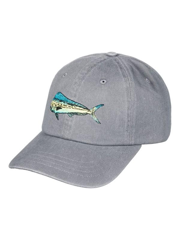 0 Waterman Sloppy Baseball Hat  AQMHA03069 Quiksilver