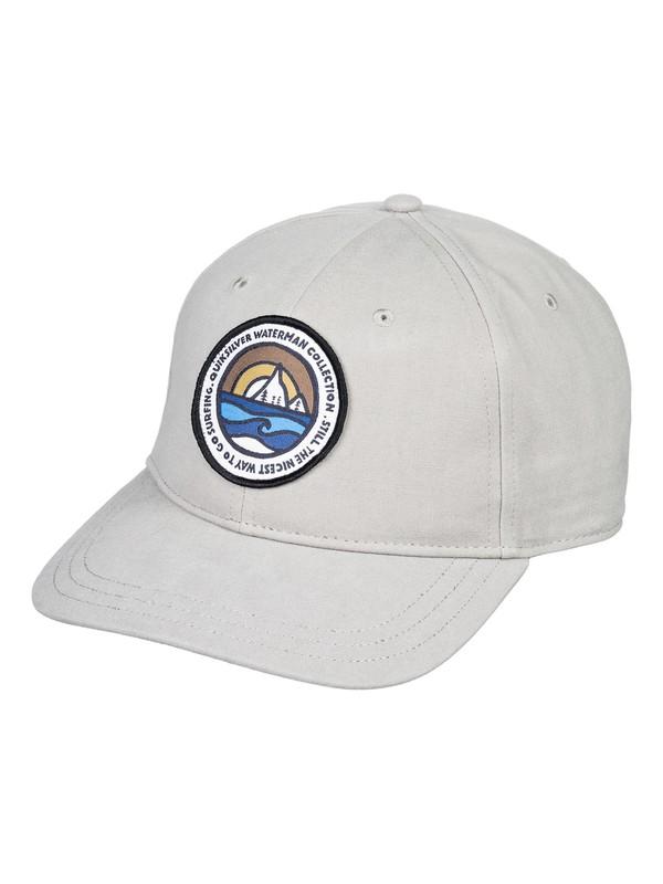 0 Waterman Barnacles Snapback Hat Grey AQMHA03078 Quiksilver