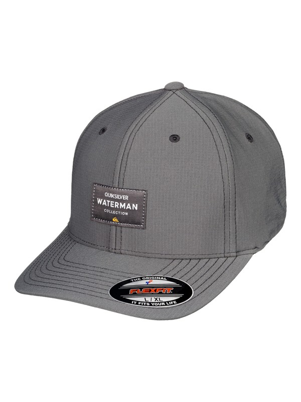 0 Sea Breezer Flexfit Hat Black AQMHA03080 Quiksilver