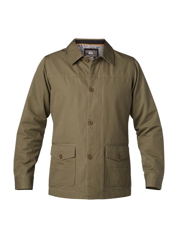 0 Men's Passport Jacket  AQMJK03000 Quiksilver