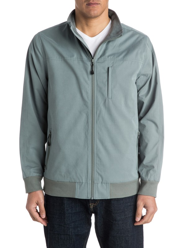 0 Men's The Helm Windbreaker Jacket  AQMJK03006 Quiksilver