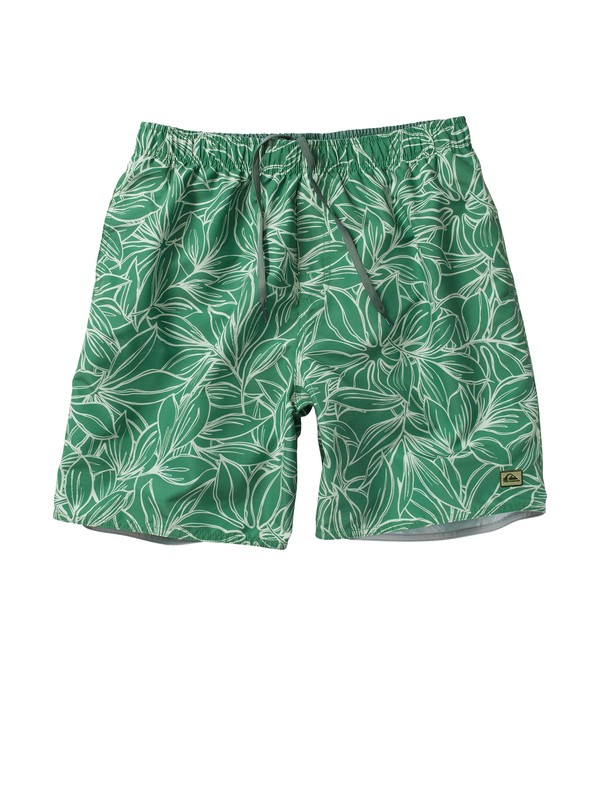 0 Men's Flores Volley Boardshorts  AQMJV00006 Quiksilver