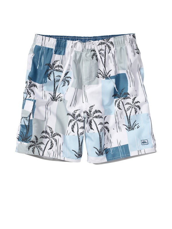"0 Men's Cabana 18"" Volley Boardshorts  AQMJV00017 Quiksilver"