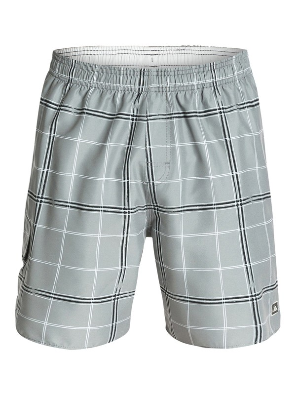 "0 Men's Crosshatch 18"" Volley Boardshorts  AQMJV03021 Quiksilver"