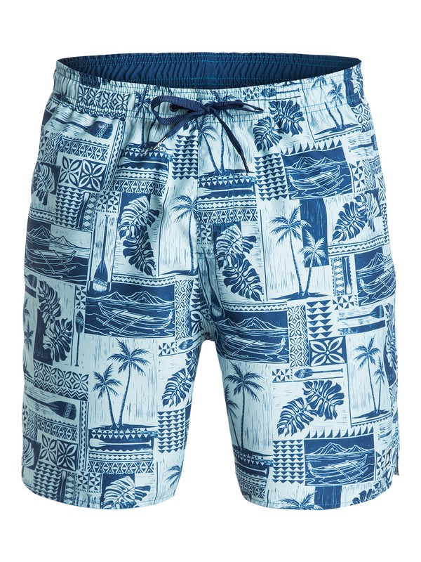 "0 Men's South Bay 18"" Volley Boardshorts  AQMJV03023 Quiksilver"