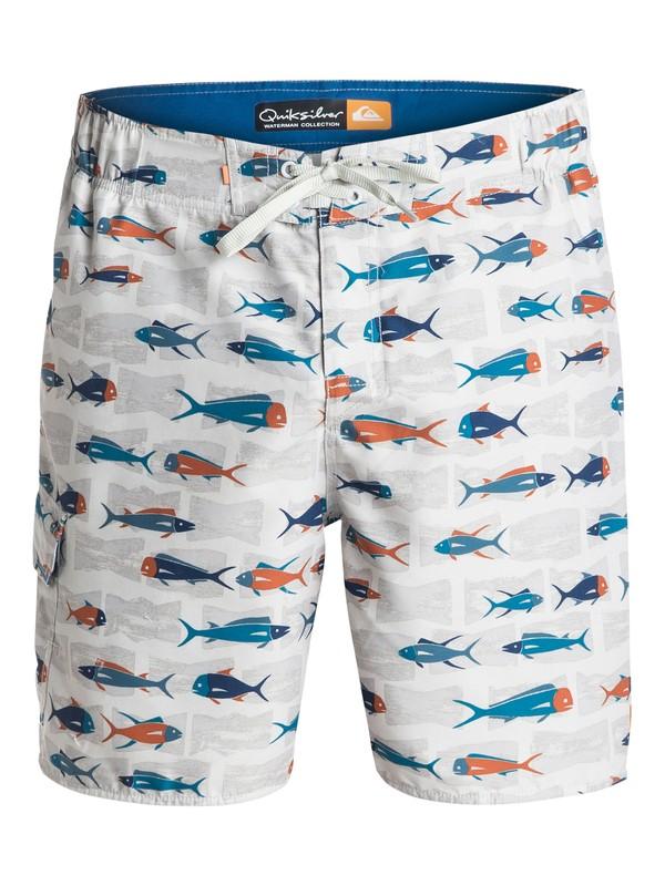 "0 Men's Pier 20"" Hybrid Shorts  AQMJV03029 Quiksilver"