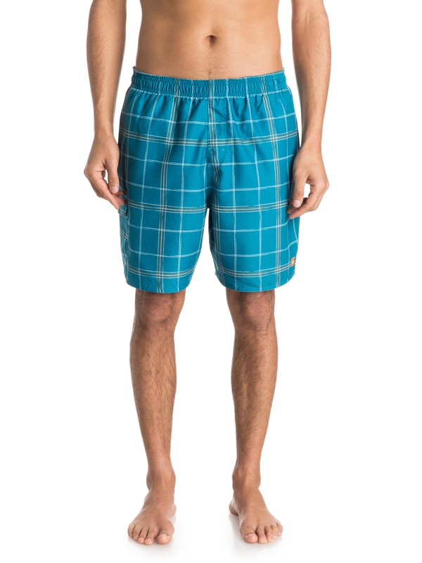 0 Men's Hopaka Volley Boardshorts  AQMJV03031 Quiksilver