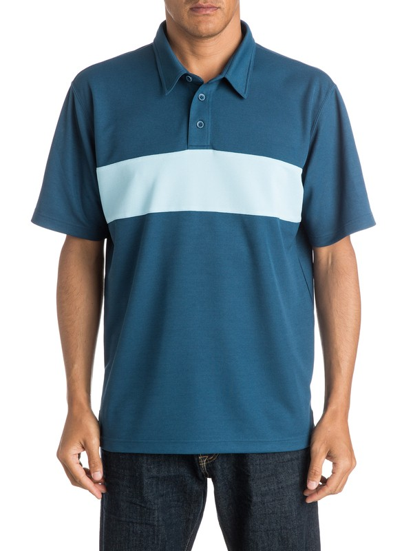 0 Mens Comeback Polo Shirt  AQMKT03035 Quiksilver
