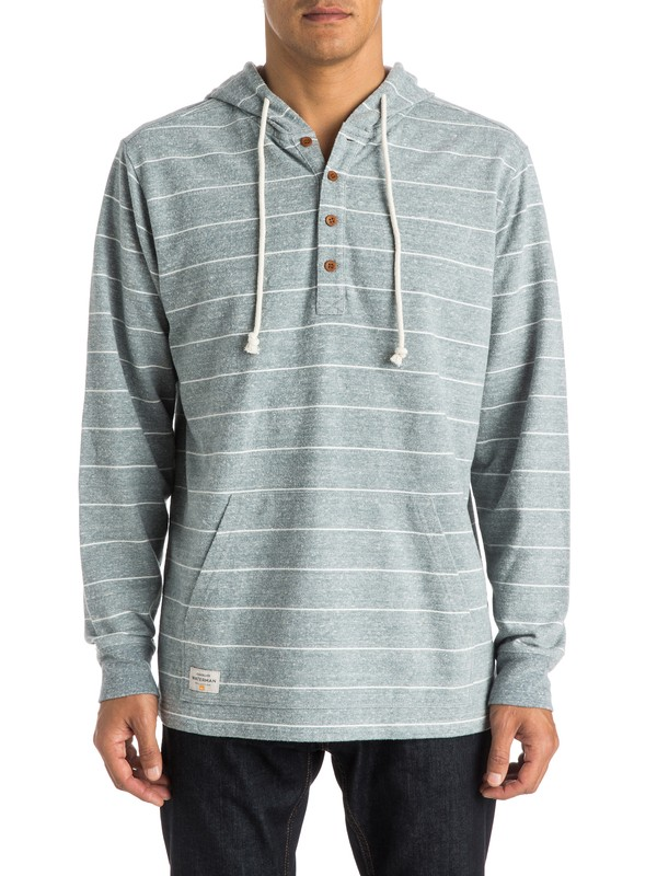 0 Waterman Dawn Patrol - Hooded Henley Top  AQMKT03040 Quiksilver