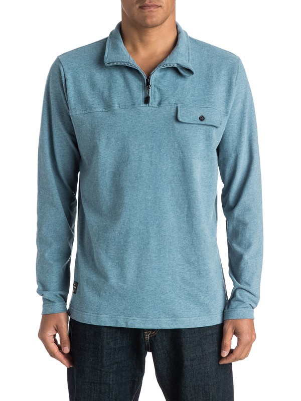 0 Waterman Shared Belief Pullover Sweatshirt  AQMKT03052 Quiksilver