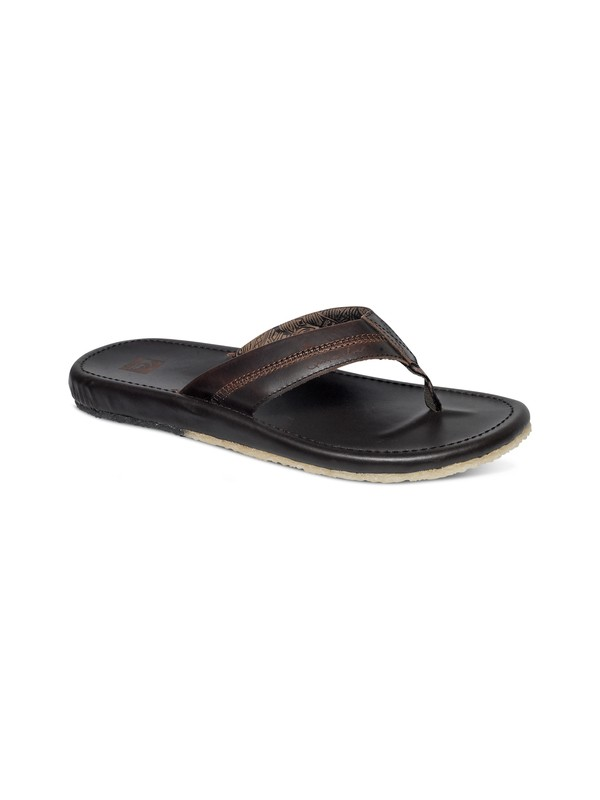 0 Corsica Leather Sandals  AQML100002 Quiksilver