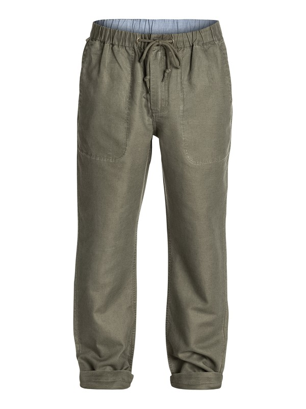 0 Waterman Antigua Linen Pants  AQMNP03007 Quiksilver