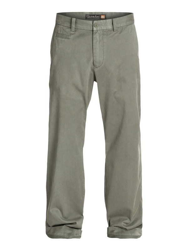 0 Men's Brizzie Long Chino Pants  AQMNP03009 Quiksilver
