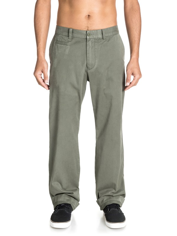 0 Men's Brizzie Chino Pants  AQMNP03010 Quiksilver
