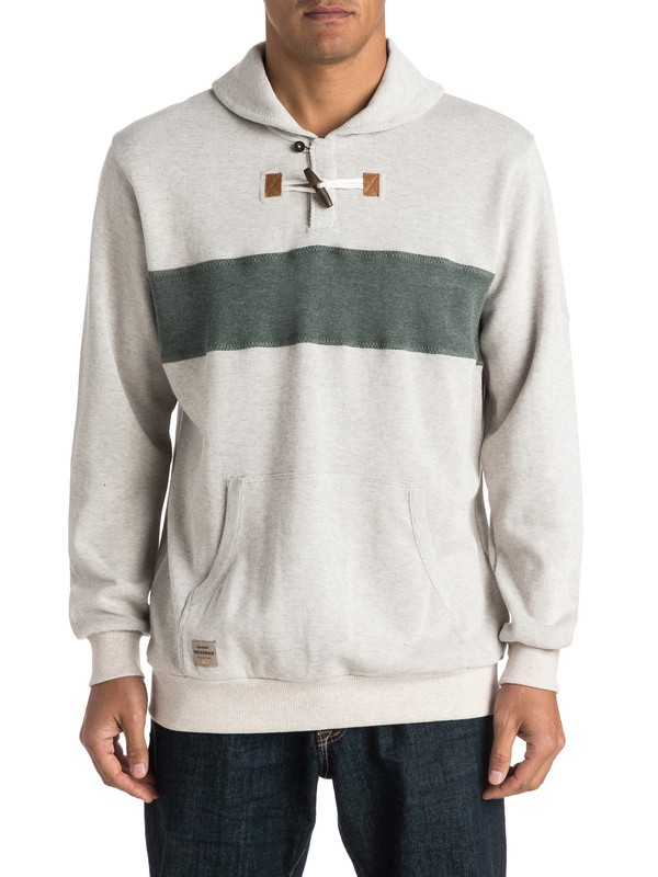 0 Waterman Sea Legs Shawl-Collar Sweater  AQMSW03004 Quiksilver