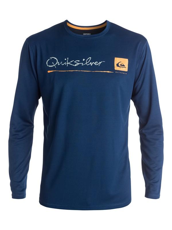 0 La Costa Long Sleeve Rashguard  AQMWR03007 Quiksilver