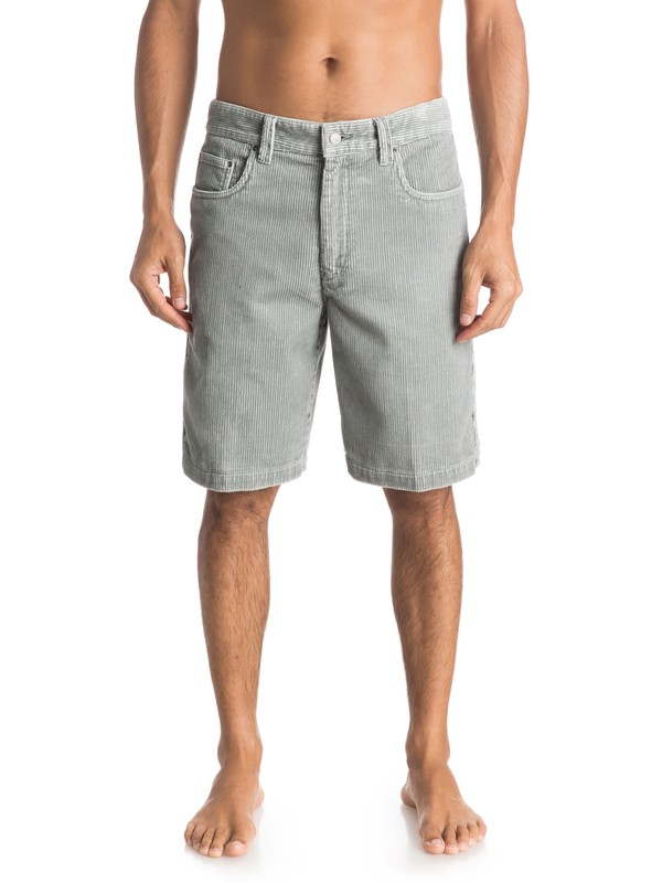 0 Waterman Supertubes - Shorts Grey AQMWS03042 Quiksilver