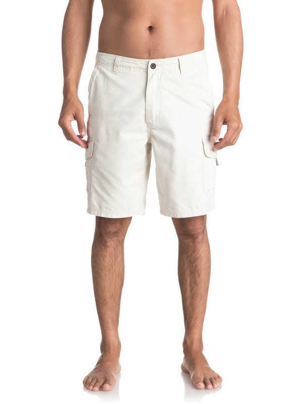 0 Waterman Maldive Chino Shorts White AQMWS03043 Quiksilver